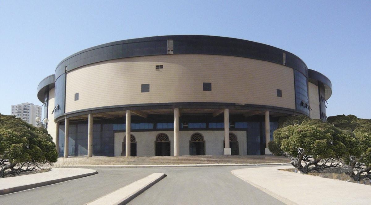 Auditorio y Centro de CongresosArgelia. Obra Pública